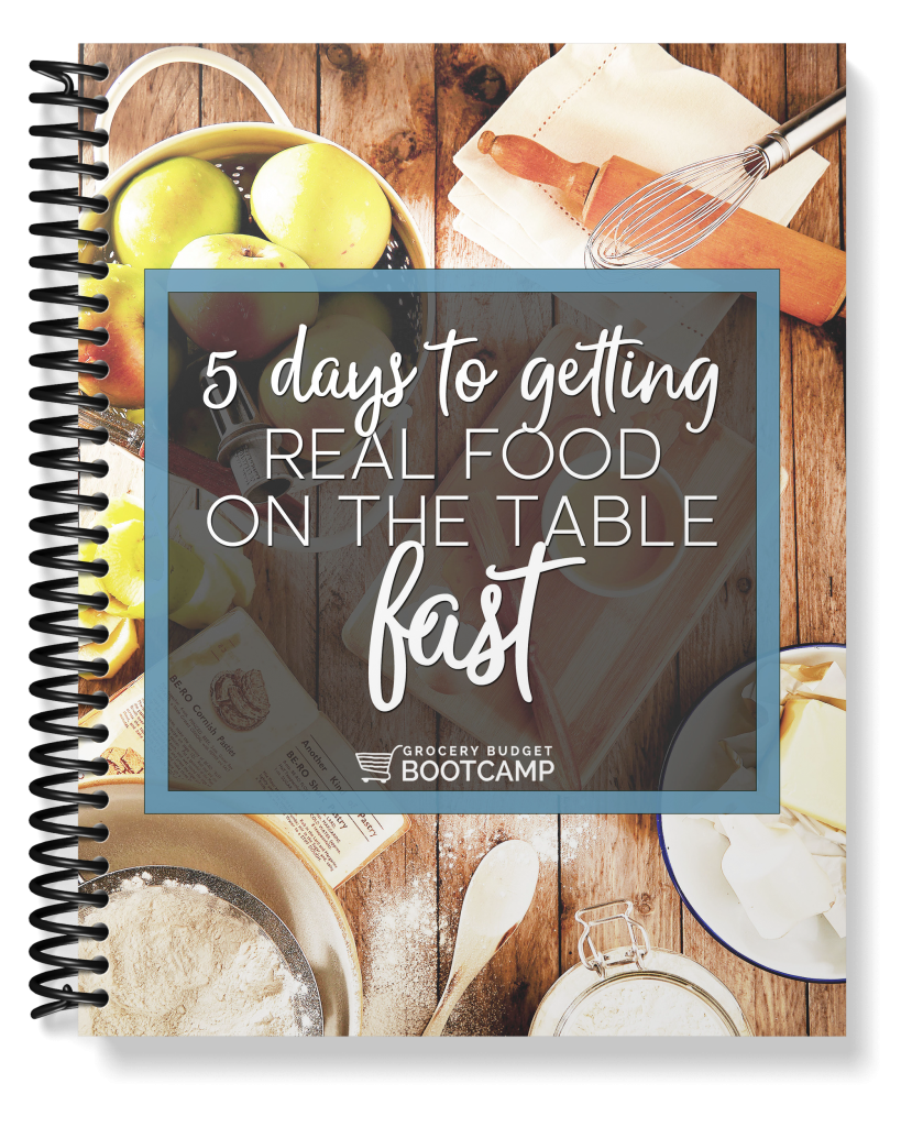 5 Days to Getting Real Food on the Table FAST Spiral 2 Cropped